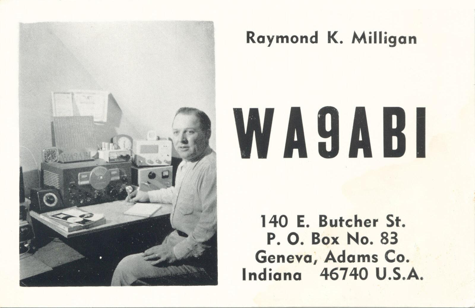 Dad's best friend, Raymond got us started into Ham Radio