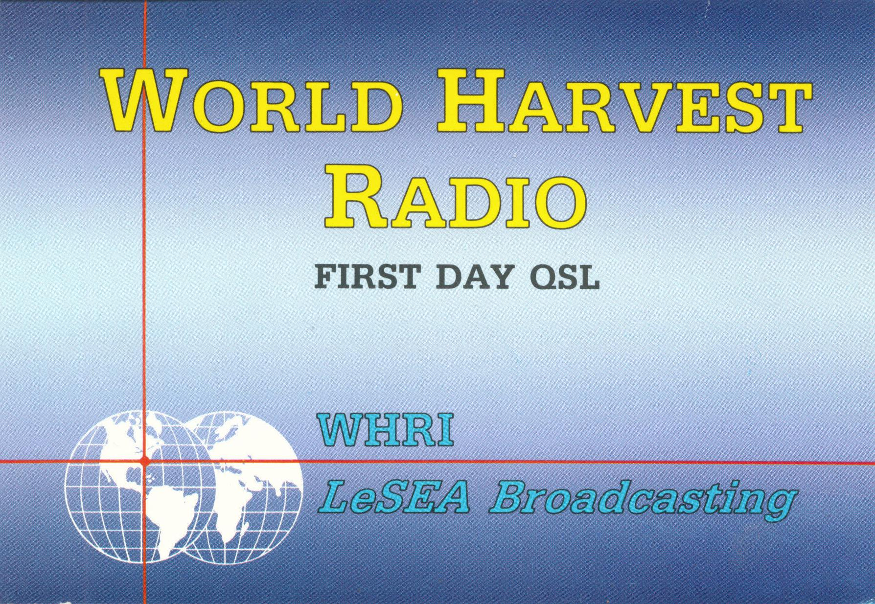 World harvest radio lesea broadcasting corporation